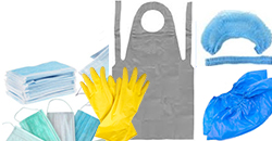 Перчатки, бахилы, фартуки, шапочки от АМИК Сервис