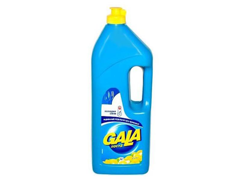 Засіб для миття посуди GALA 1000г, лимон