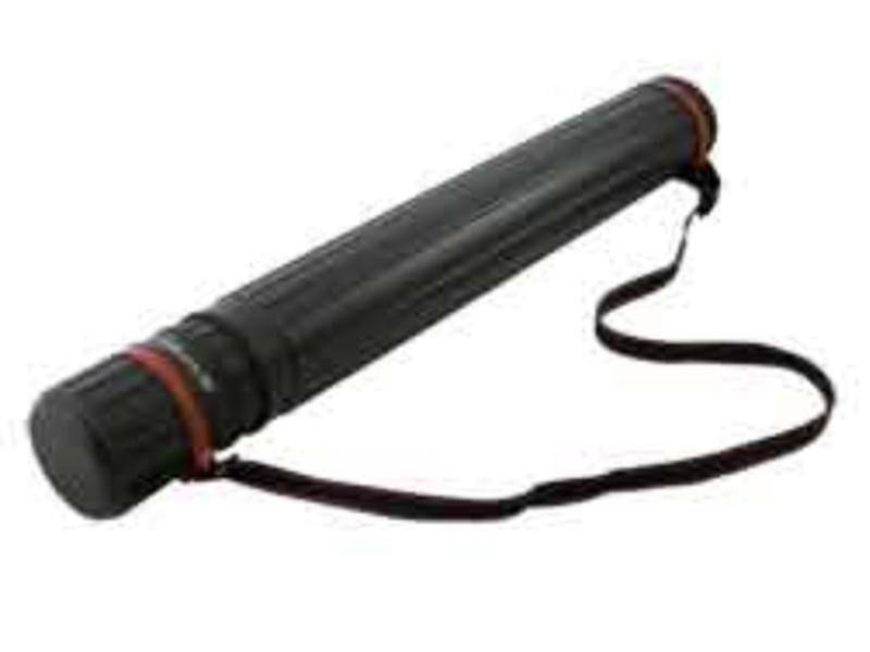 Тубус для ватмана d-85 (64.5-110) пластиковий Buromax