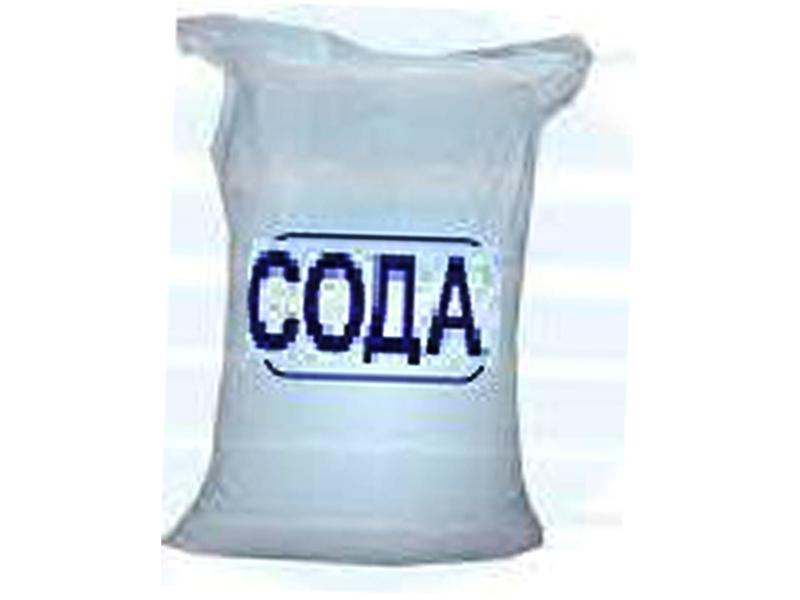 Сода кальцинована 25 кг (мішок)