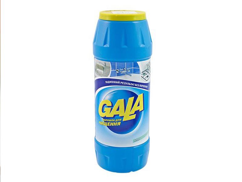 Чистячий порошок Гала 500г, хлор
