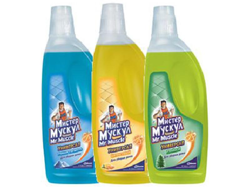 Засіб миючий для прибирання Mr.Muscle Універсал 750мл