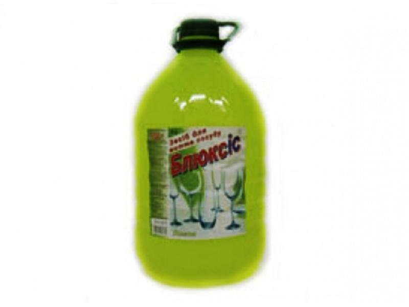 Засіб для миття посуди Блюксіс 5л, лимон