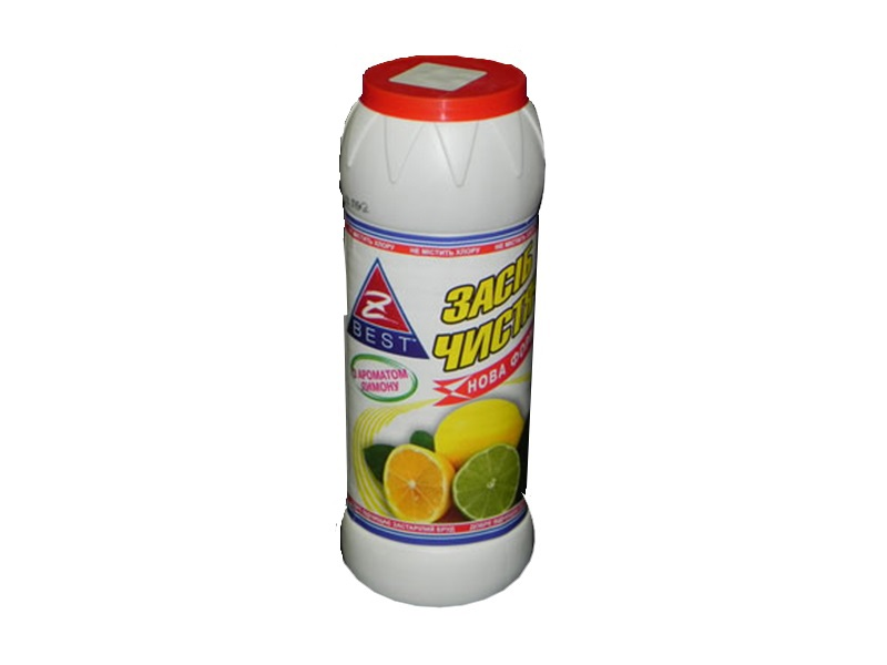 Чистячий порошок Z-BEST 500г, лимон
