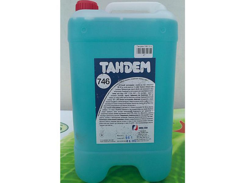 Засіб миючий для підлоги мармурової Тандем-746 10л, концентрат