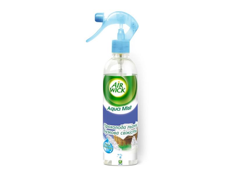 Освіжувач повітря  Aqua Mist AIRWICK 345мл, льону та бузкова свіжість