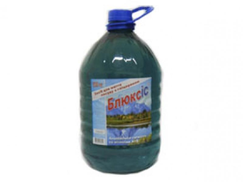 Засіб для миття посуди Блюксіс 5л гліцерин+вітамін, альпійська свіжість