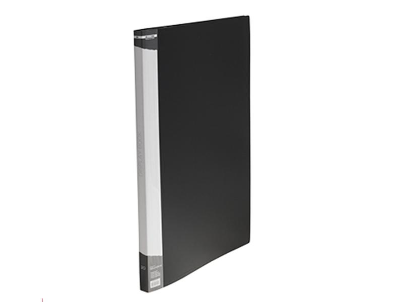 Папка з 20 файлами А3, пластик 550мкм, Buromax, чорний