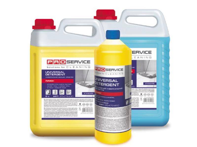 Засіб миючий для прибирання РRO-25472422,-32 Універсал 5л, лимон, море