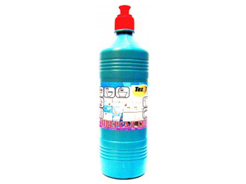 Чистячий засіб з хлором активним ТезаТ ГЕЛЬ 1кг з дезинфікуючим ефектом, дозатор-ковпачок