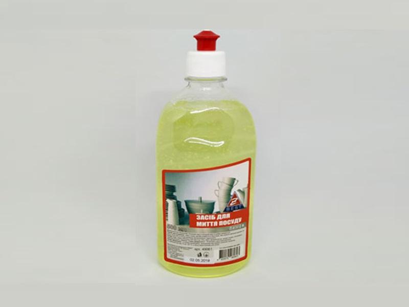 Засіб для миття посуди Z-BEST 500мл, лимон