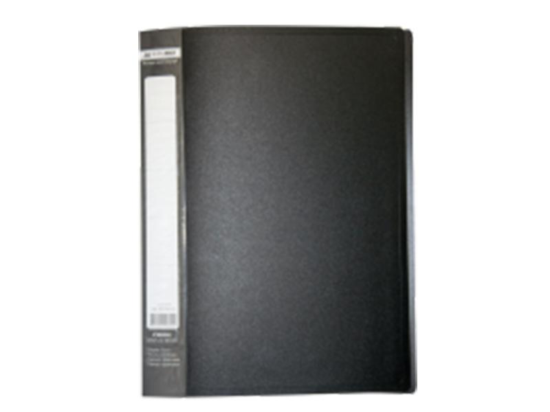 Папка з 30 файлами А4, пластик 450мкм, Buromax JOBMAX, синій