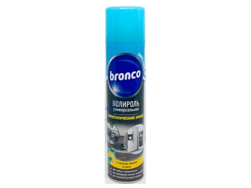 Засіб для меблів аерозоль Bronco Поліроль лимон силікон 300мл