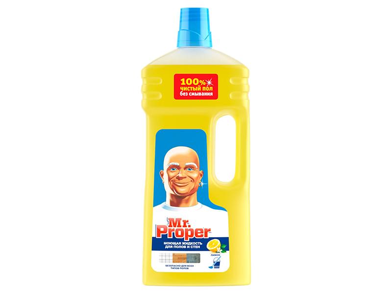 Засіб миючий для прибирання Mr.Proper Універсал 1500мл, лимон