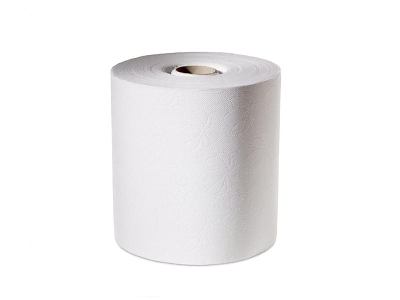 Рушники паперові в рулоні Джамбо целюлозні 2шар. d=19 h=18,5 /100м 500відр., білі