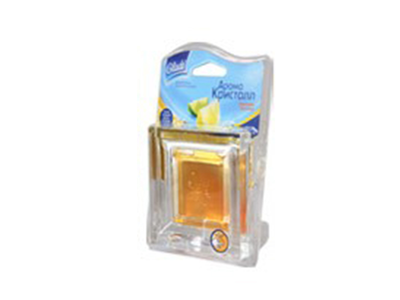 Освіжувач повітря Аромокристал гель 8г (Декор_в склі), фруктовий