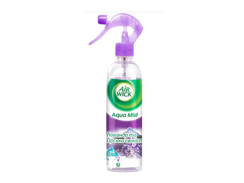 Освіжувач повітря  Aqua Mist AIRWICK 345мл, лаванда+гірська свіжість
