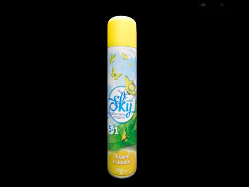 Освіжувач повітря SKY 300мл, лимонний мікс