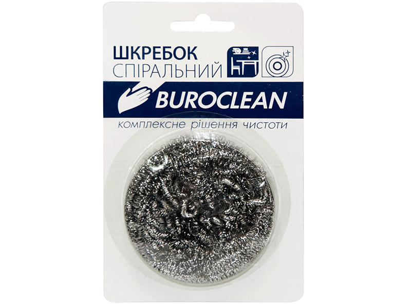 Шкребок металевий стрічковий 1шт Buroclean