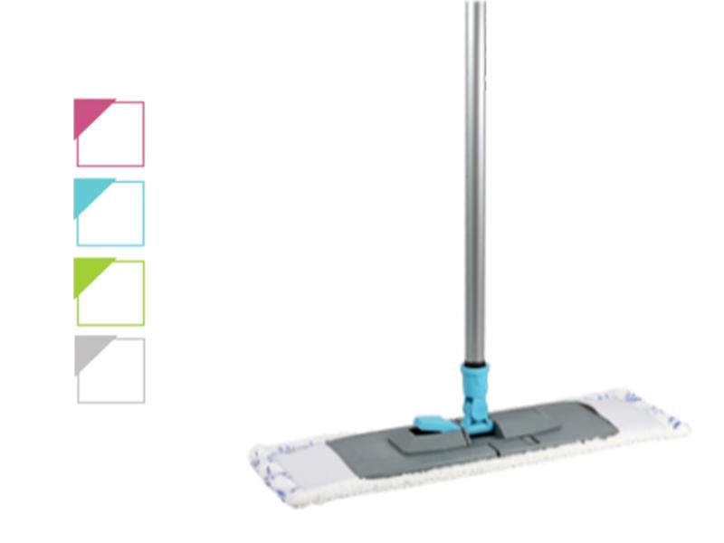 Швабра для підлоги плоска EK-043 (основа, ручка, моп)