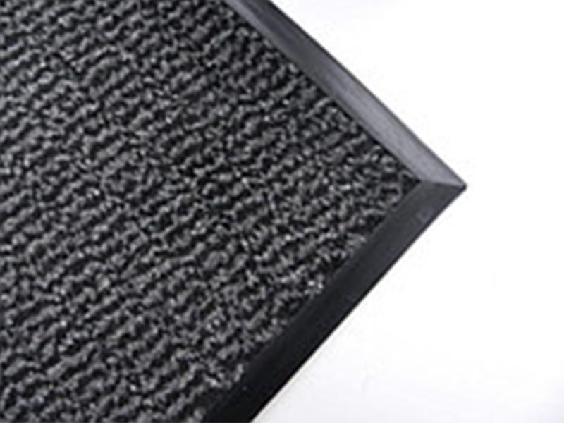 Килимок ворсовий вологозахисний 120х80см ТАЙГЕР, на гумовій основі, поліамідна нитка
