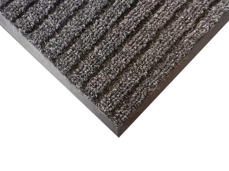 Килимок ворсовий волого-брудозахисний  110х80см ЛАН, на гумовій основі
