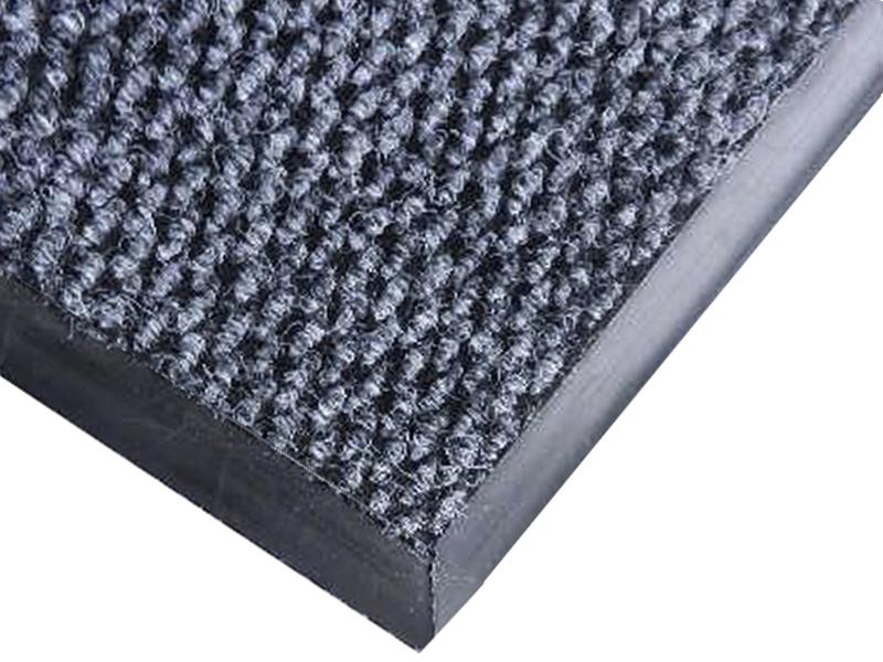 Килимок ворсовий волого-брудозахисний 90х60см Монако, на гумовій основі