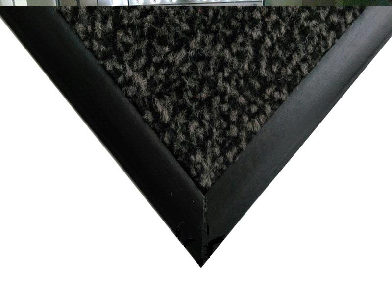 Килимок ворсовий вологозахисний 120х80см ПАРИЖ, на гумовій основі