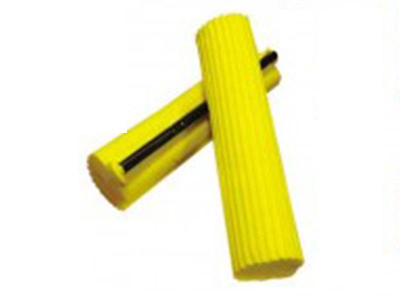 Змінна губка для швабри з віджимом 001 Умняшка, жовтий