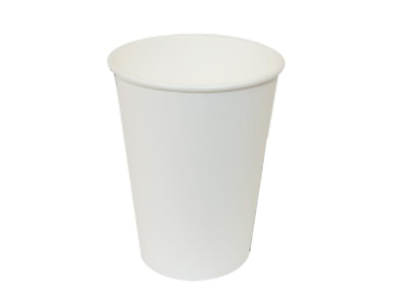 Стакан паперовий 250мл 50шт, білий термо (під кришку КР-76,77)