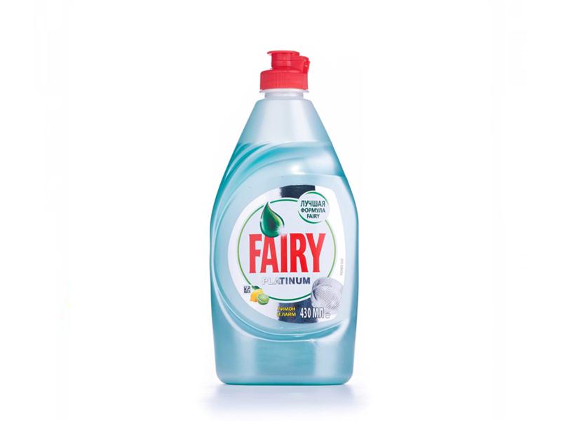 Засіб для миття посуди FAIRY ПЛАТИНУМ 430мл