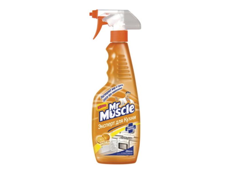 Чистячий засіб для кухні Mr.Muscle 450мл з розпилювачем, енергія цитруса