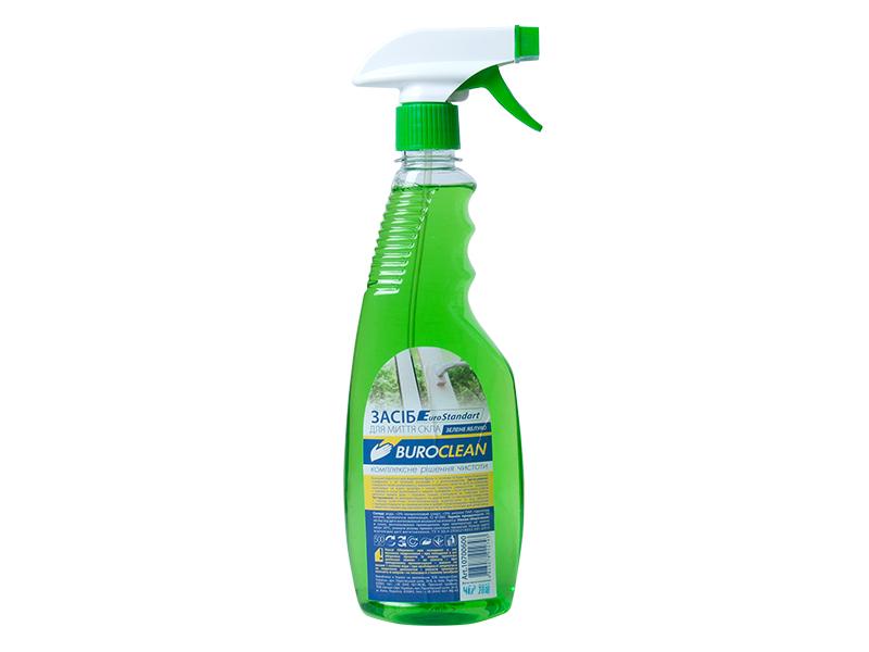 Засіб для миття скла, інших поверхонь BUROCLIAN 500мл (нашат.спирт), з розпилювачем