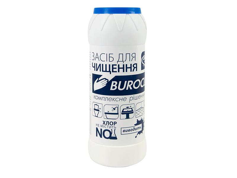 Чистячий порошок BUROCLIAN 500г, лимон