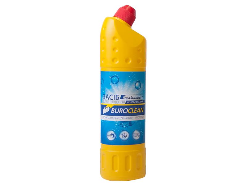 Засіб для чищення сантехніки, унітазів (гель) BuroClean EuroStandart 750 мл
