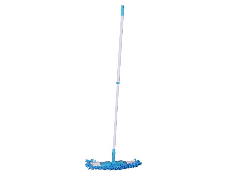Швабра для підлоги плоска BUROCLIAN (основа, ручка телескопічна, моп)