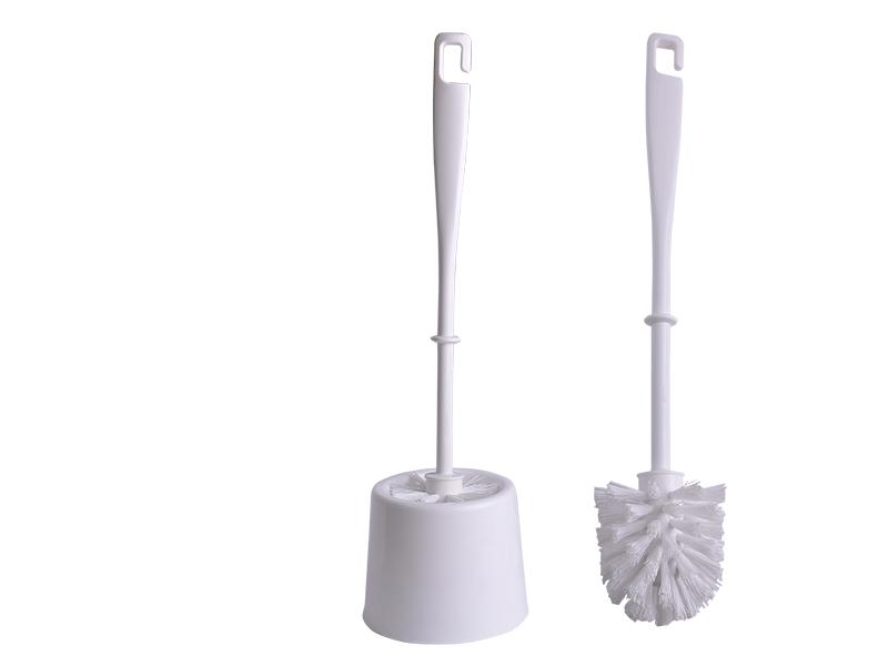Щітка для унітазу з підставкою BUROCLIAN пластикова