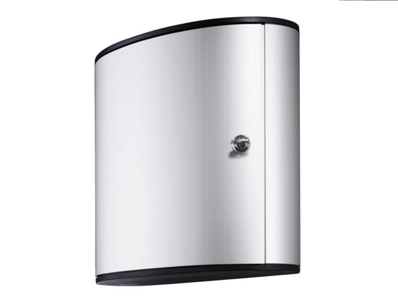Сейф для 36 ключей металлический настенный 302х118х280мм Durable KEY BOX, серый