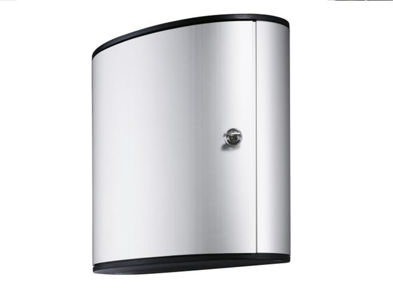 Сейф для 54 ключей металлический настенный 302х118х280мм Durable KEY BOX, серый