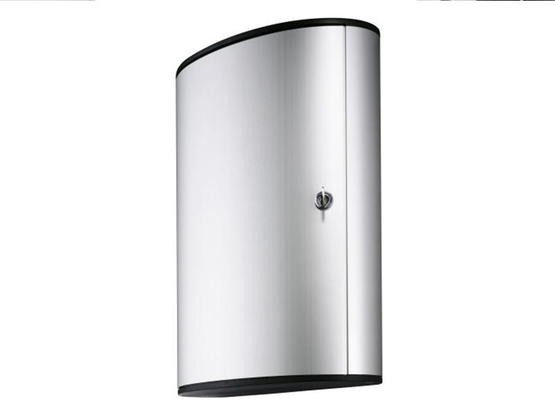 Сейф для 48 ключей металлический настенный 400х118х302мм Durable KEY BOX, серый