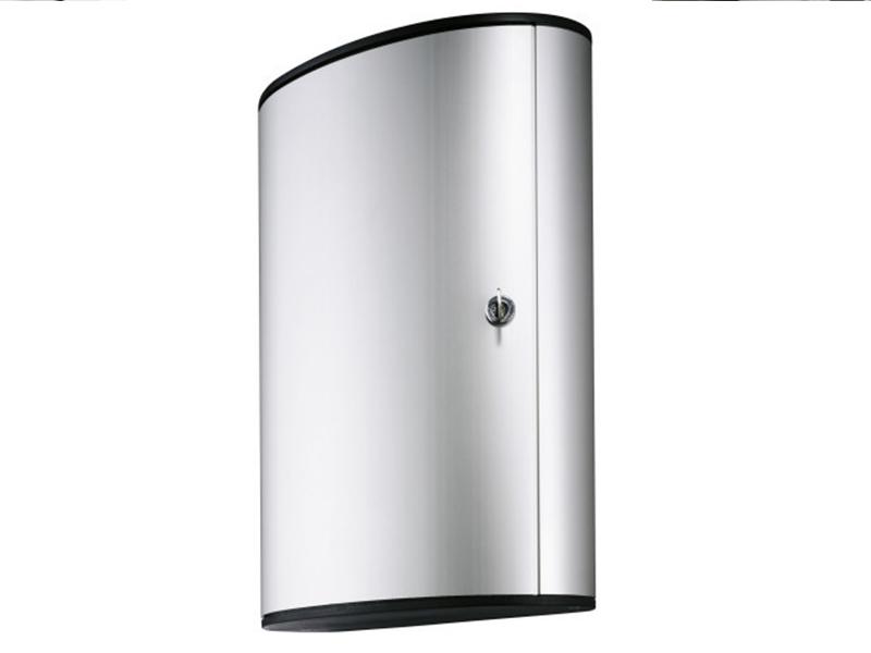 Сейф для 72 ключей металлический настенный 400х118х302мм Durable KEY BOX, серый