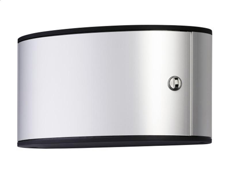 Сейф для 12 ключей металлический настенный 302х118х160мм Durable KEY BOX, серый