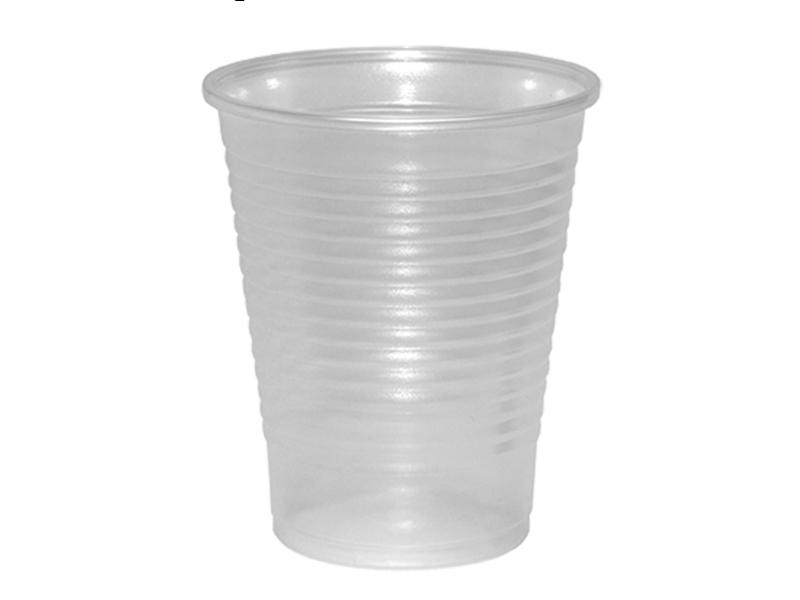 Стакан пластиковий РР 180мл 100шт (1,6), прозорий
