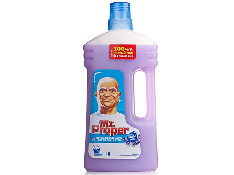 Засіб миючий для прибирання Mr.Proper Універсал 1000мл, лаванда