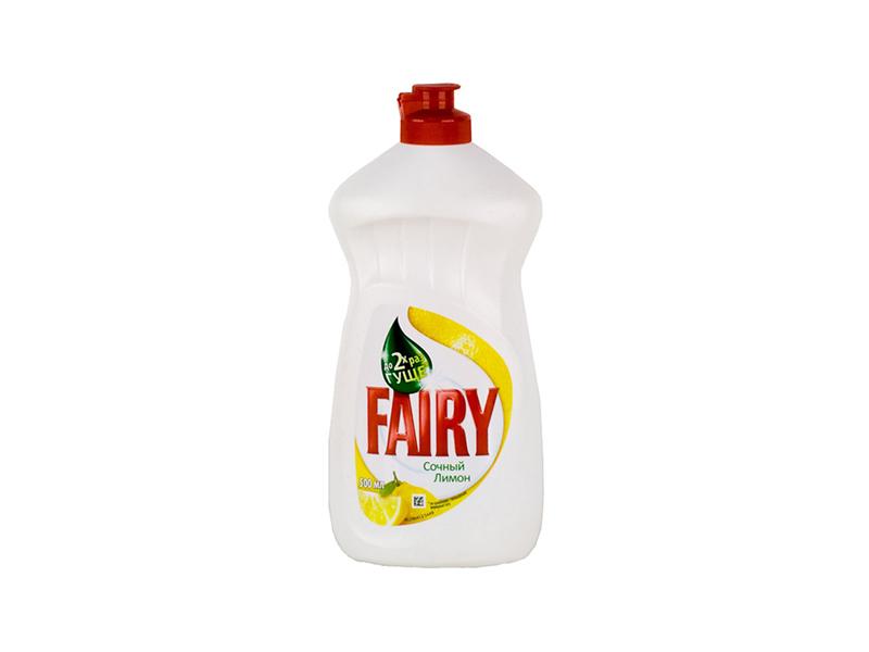 Засіб для миття посуди FAIRY 500мл, соковитий лимон
