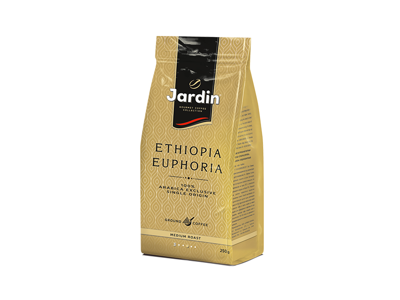Кава Jardin мелена Ethiopia Euphoria 250г, пакет