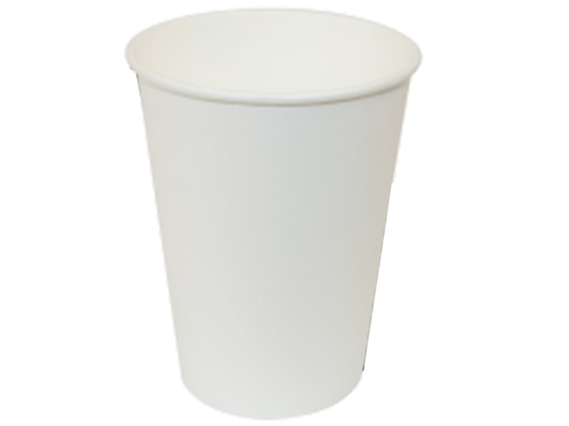 Стакан паперовий 340мл 50шт, білий термо (під кришку арт.10193_1)
