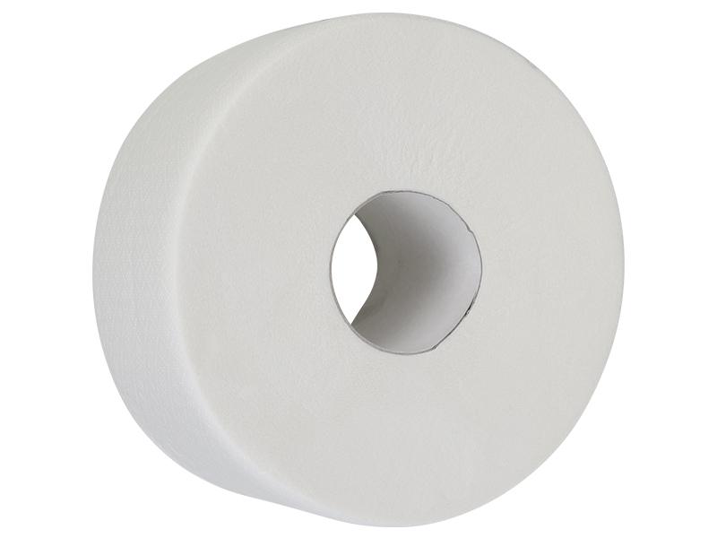 Туалетний папір в рулоні целюлозний 2шар/130м 909відр. BUROCLIAN, білий