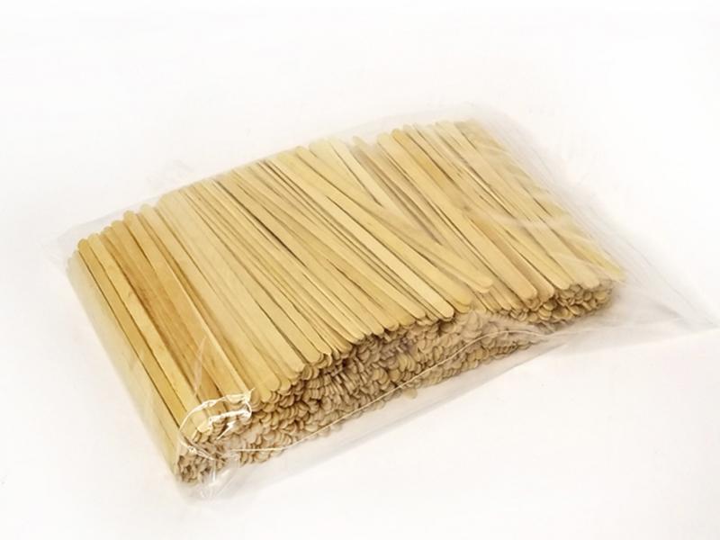 Мішалки палички  дерев`яні 14,5см 800шт, білі