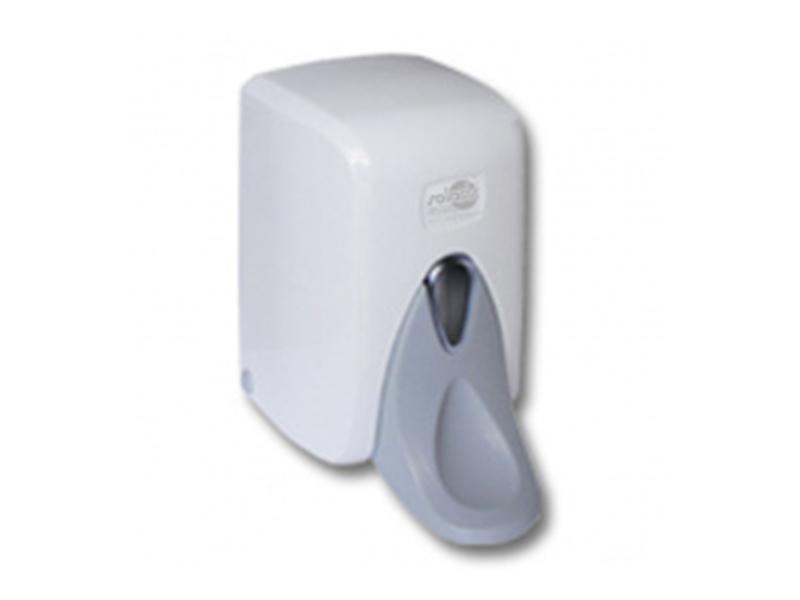 Дозатор рідкого мила і засоба для дезінфекції, ліктьовий 0,5л пласт. S.5-M, білий